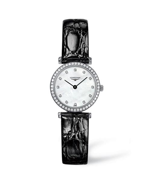 Longines La Grande Classique Damenuhr mit 60 Diamanten (0,403 ct) L4.241.0.80.2