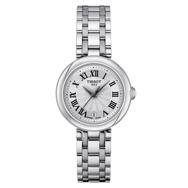 Tissot Bellissima Damenuhr 26mm Silber Edelstahl-Armband T126.010.11.013.00