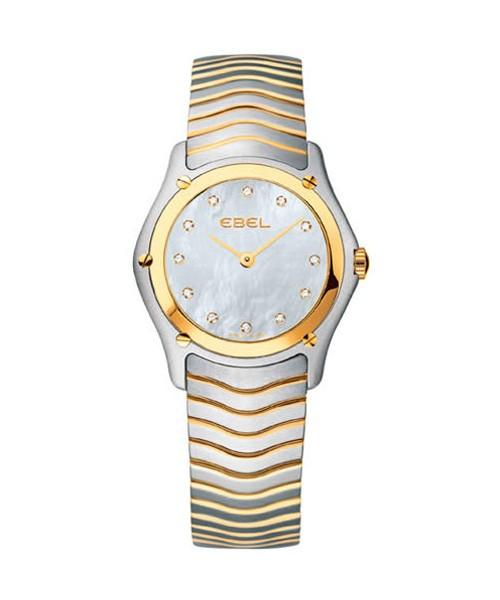 Ebel Classic Lady Damenuhr Bicolor Perlmutt Zifferblatt mit Diamanten 1215371 Sale! Hier zum günstigen Preis online kaufen