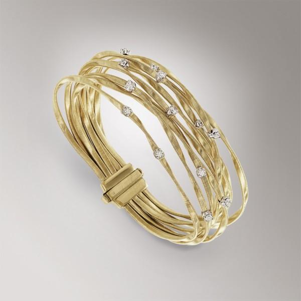Marco Bicego Marrakech Armband aus 18kt Gold mit Diamanten BG339 B