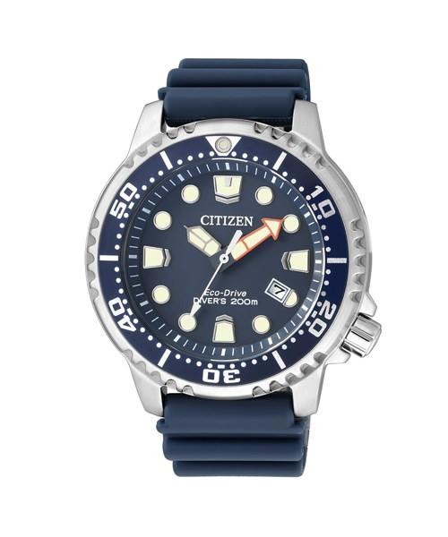 Citizen Promaster Marine Diver Taucheruhr blau Eco-Drive BN0151-17L