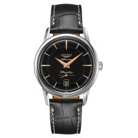 Longines Flagship Heritage Automatic Schwarz Leder-Armband 38,5 mm L4.795.4.58.0 | Uhren01