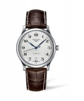 The Longines Master Collection Automatik Herrenuhr 38,5mm mit weißem Zifferblatt L2.628.4.78.3