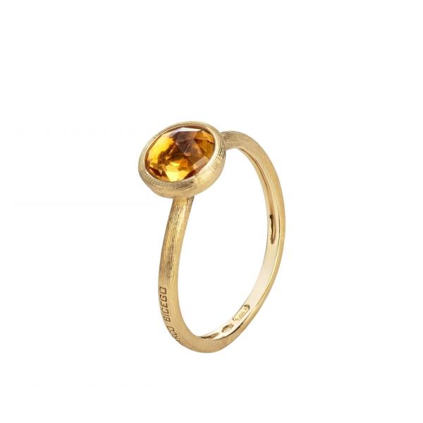 Marco Bicego Ring Gold mit gelbem Quarz Jaipur AB471-QG01
