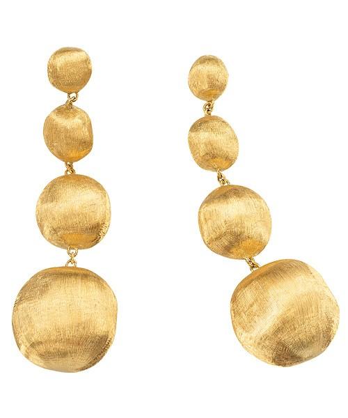 Marco Bicego Africa Ohrringe aus je 5 Kugeln Gold 18 Karat Ohrhänger OB937-P