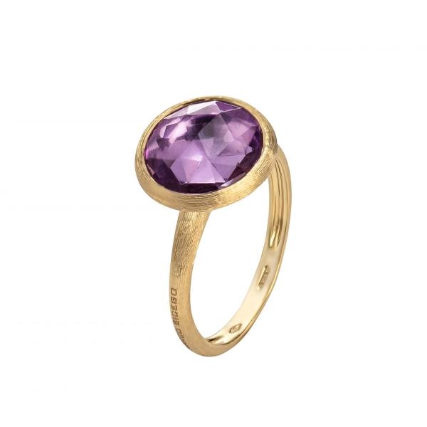 Marco Bicego Ring mit Amethyst Edelstein Gold 18 Karat Jaipur Color AB586 AT01 Y