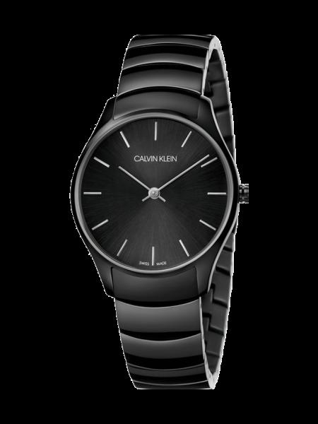 Calvin Klein Herrenuhr Classic schwarz K4D21441