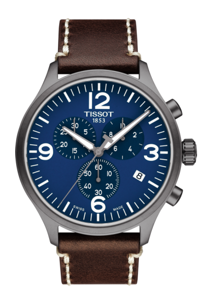 TISSOT CHRONO XL (T116.617.36.047.00) Herren Lederarmband Chronograph