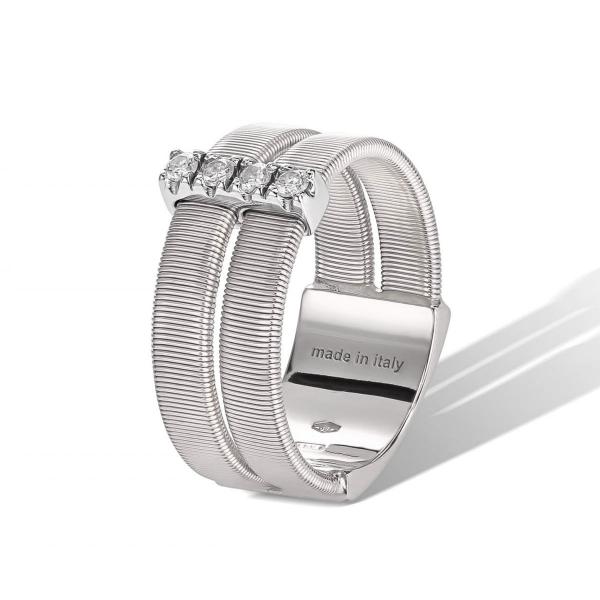 Marco Bicego Ring Masai Weißgold mit Diamanten AG344 B W