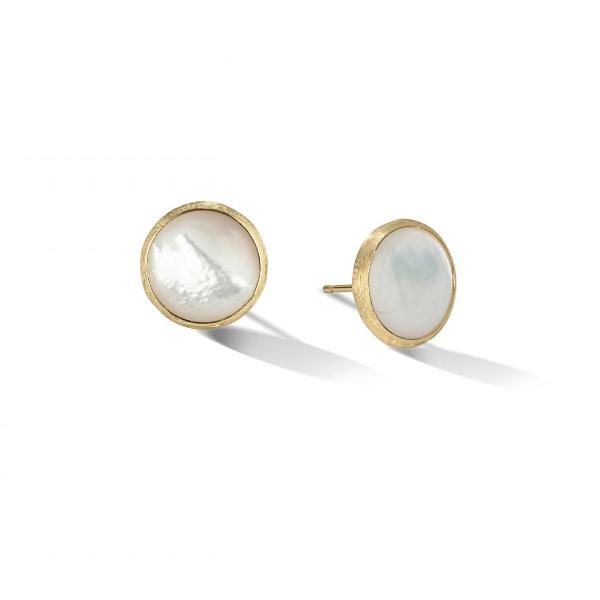 Marco Bicego Perlen-Ohrringe Gold Jaipur Color OB1739 MPW Y