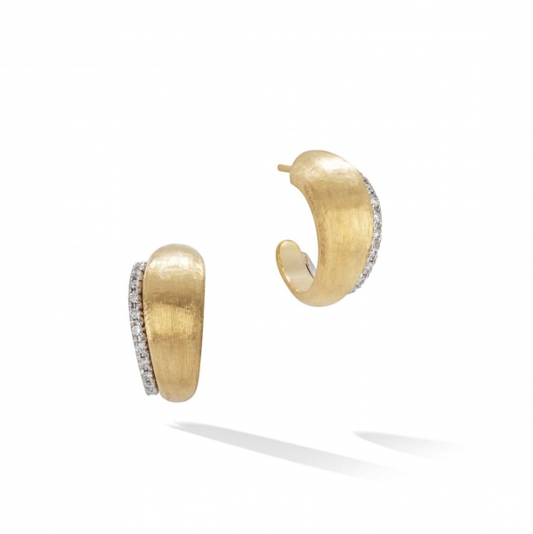 Marco Bicego Ohrringe Lucia Ohrstecker Mini Gold & Diamanten OB1680 B YW