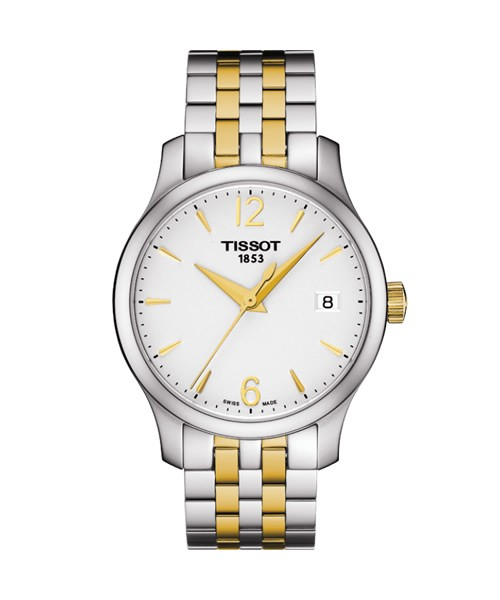 Tissot Tradition Lady Bicolor Damenuhr 33mm T063.210.22.037.00