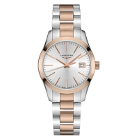 Longines Conquest Classic Damen Bicolor 34 mm Quarz L2.386.3.72.7