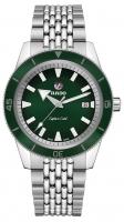 Rado Captain Cook Automatic Grün 42mm Edelstahl-Armband Herren R32505313