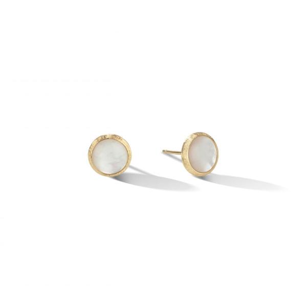 Marco Bicego Ohrringe Gold mit Perlen Jaipur Color OB957 MPW Y