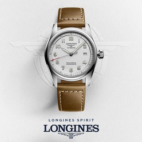 Longines Spirit - The Pioneer Spirit Lives On